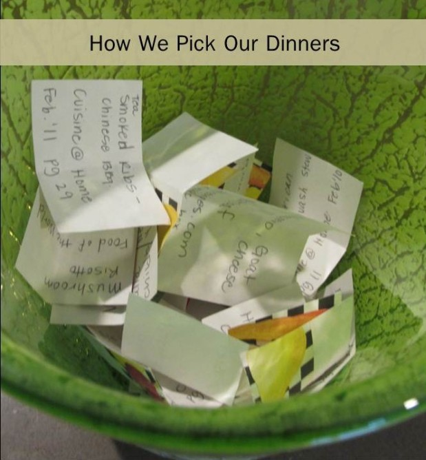 How we pick ourdinners…