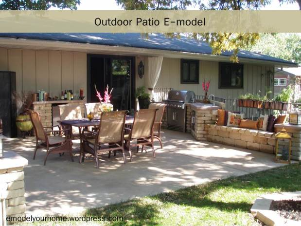 Outdoor Patio: August 2011