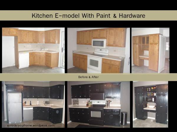 B&A Kitchen with Paint