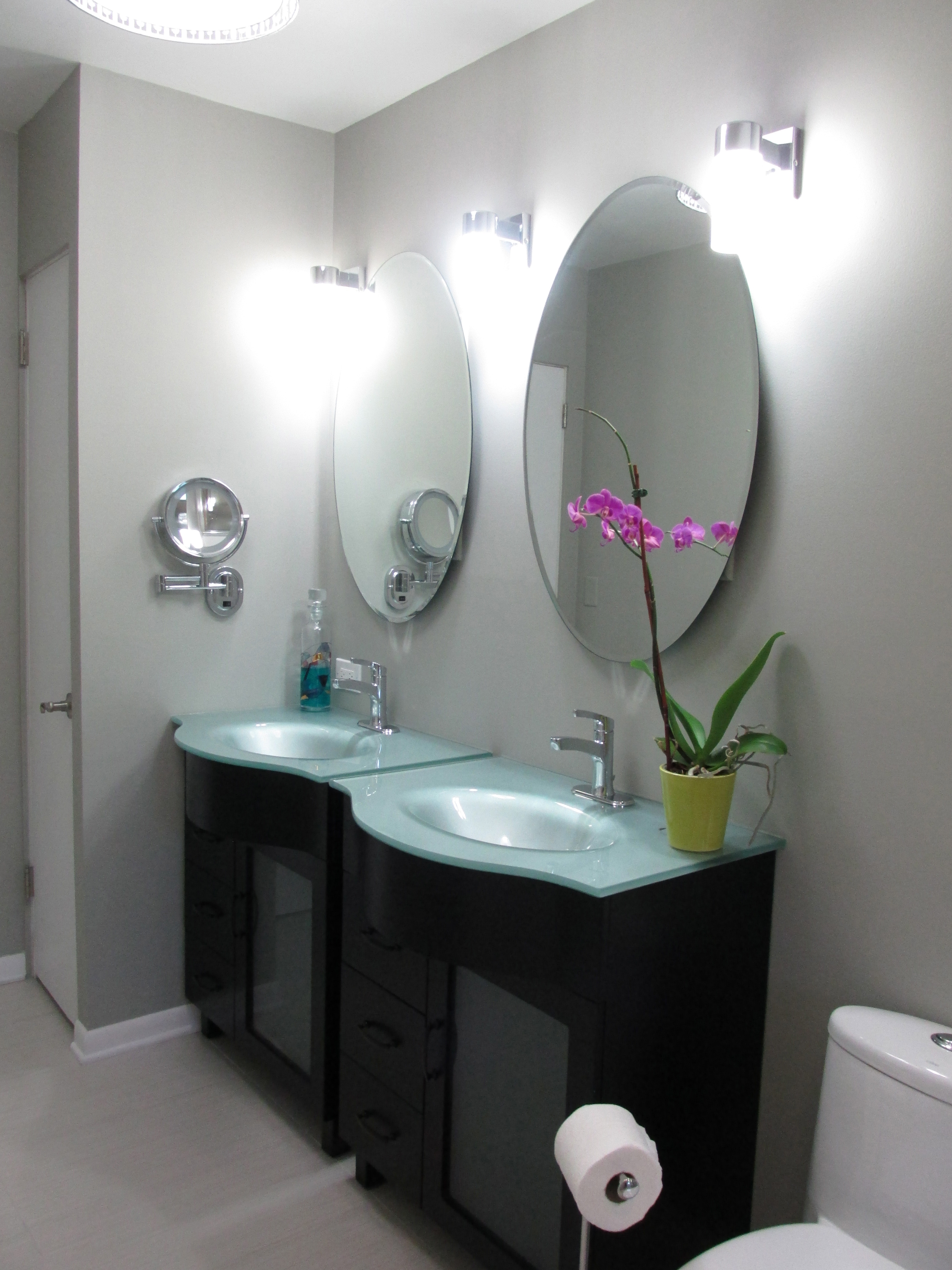 Master Bathroom Continued January 2013 Emodel Your Home