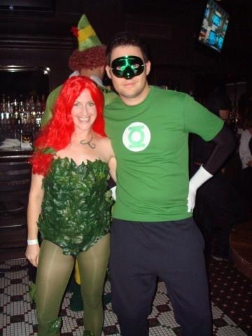 halloween poison ivy u0026 green lantern