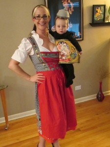 Halloween Beer wench and her stein